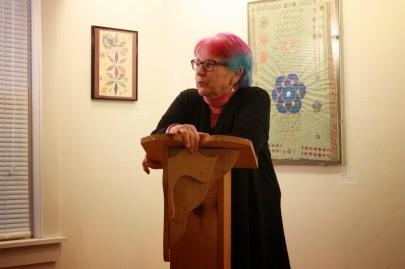 Bertha Rogers pedestal