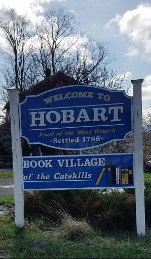 New Hobart sign