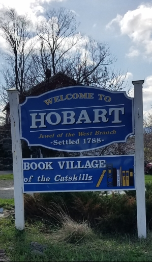 New Hobart sign